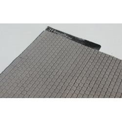 Betonplatten mit Randsteinen