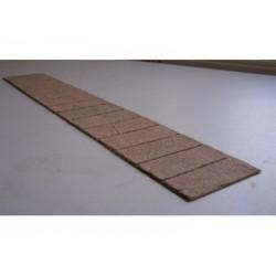 Gehweg- Platten
