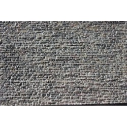 Schichtmauerwerk unregelmäßig, verfugt