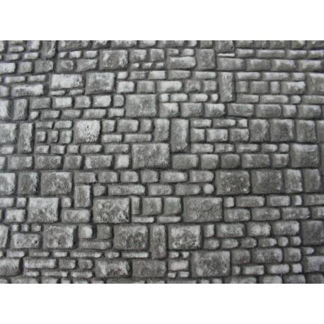 Mauer mit Quadersteinen