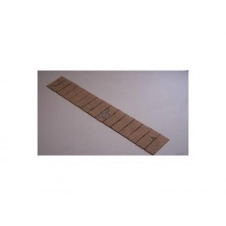 Gehweg- Platten mit Pflaster