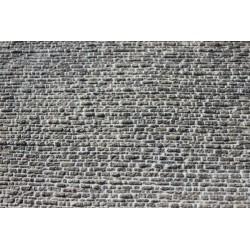 Schichtmauerwerk regelmäßig, verfugt